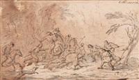 la chasse au sanglier by charles parrocel