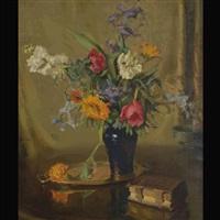 floral still life by iris miller