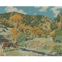 to water by walter ufer
