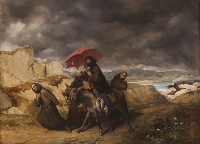 calvary triptych by portuguese school 16