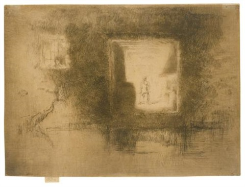 nocturne furnace by james abbott mcneill whistler