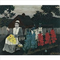 victory garden by horace pippin