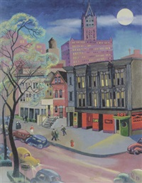 old superior street by frances s. badger