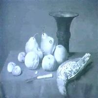 nature morte de fruits a la grive by simon saint-jean
