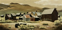 buildings at bodie no. 1 by darwin musselman