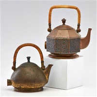 electric tea kettles (2 works) by peter behrens