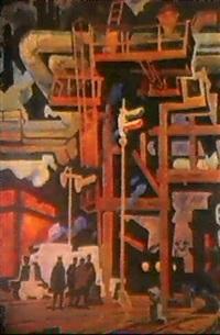le feu rouge by boris homenko