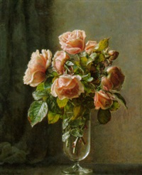 rosen in einer vase by ove haase