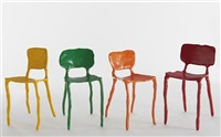 clay chairs (set of 4) by maarten baas