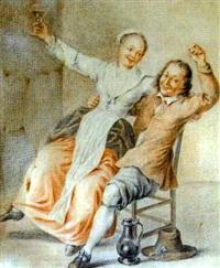 le joyeaux couple by gerrit lundens