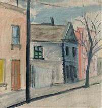 street scene, fitzroy by lina bryans