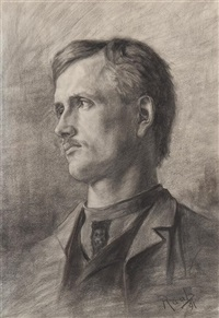 self-portrait by george raab