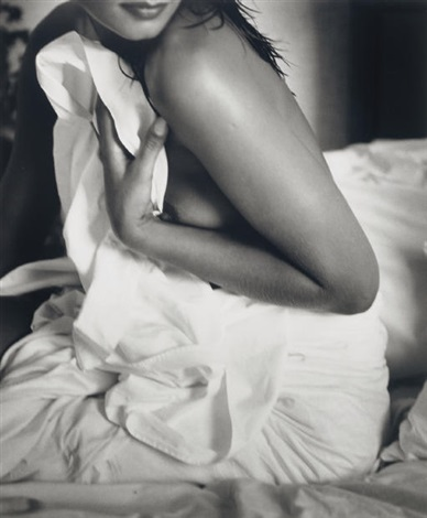 luiza in bed rio by bruce weber