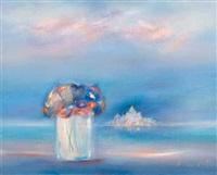 bouquet devant la mer by rené smet