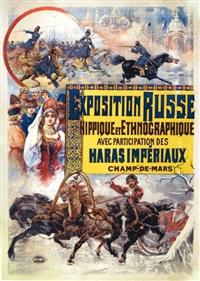 exposition russe, hippique et ethnographique by francisco tamagno