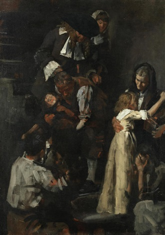 Study For The Great Fire Of London By Stanhope Forbes On Artnet