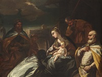 the adoration of the magi by luca giordano