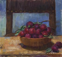plums from my garden by nora heysen
