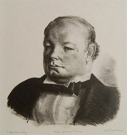 portrait of julian bowes by george wesley bellows