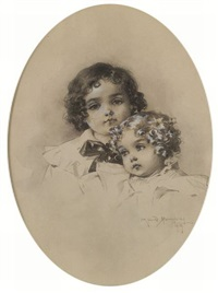 sisters by maud humphrey