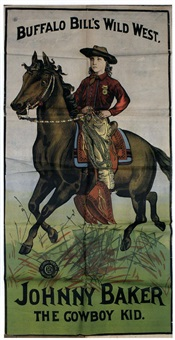 hon. w.f. cody - buffalo bill by posters: buffalo bill