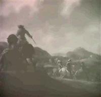 a cavalry skirmish by hans lin