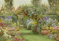 a rusthall garden by ernest arthur rowe