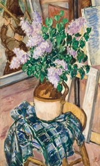 lilacs by waldo peirce