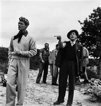 jean cocteau and jean marais, 1948 by robert doisneau