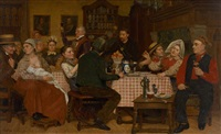 banquet familial by emile godding