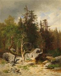 woodland spring by josef krieger