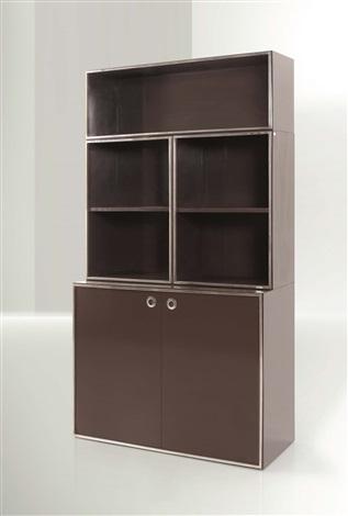 Libreria con mobile contenitore ad ante e tre moduli componibili by ...