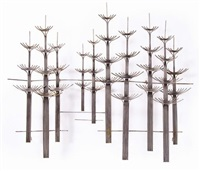 rara scultura abstract forest by curtis jere