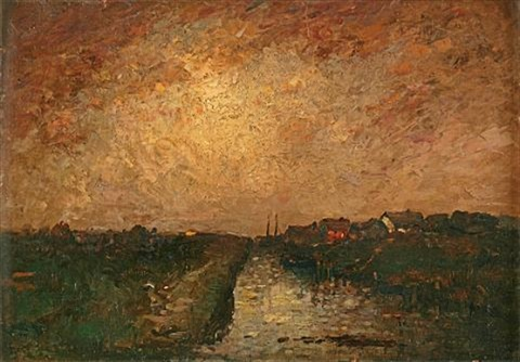 along the canal by john francis faed