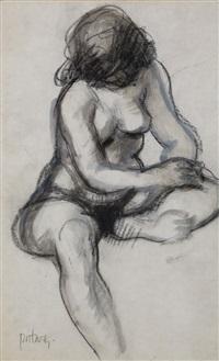 nude study by douglas portway