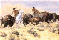 buffalo hunt by bill freeman