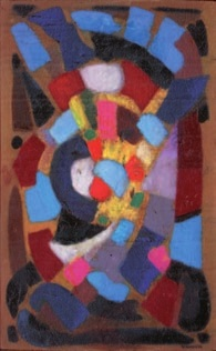 composition abstraite by albert voisin