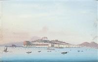 vue de naples by augusto corelli