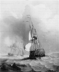 shipping of the french coast by william garthwaite