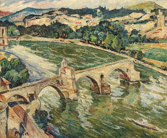le pont davignon by maria mela muter