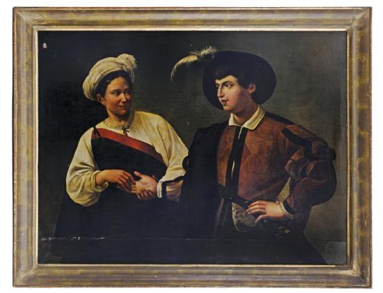 la buenaventura by michelangelo merisi da caravaggio