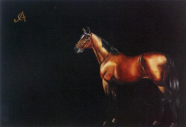 caballo by carlos anesi