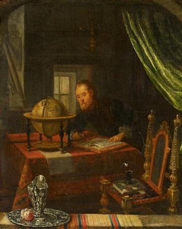 der astrologe by pieter cornelisz van slingeland