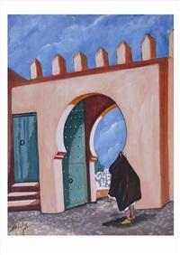 porte de la kasbah by abdeuchafi ahriz