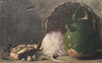 nature morte, le retour de pêche by emmanuel maris