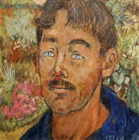 portrait of a man by peter samuelson