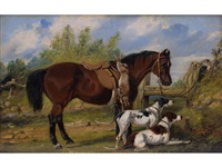horse and hounds by samuel henry alken