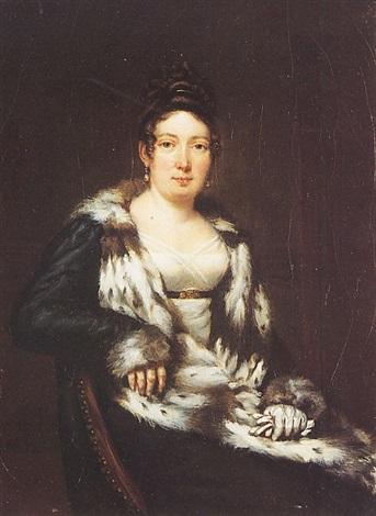 portrait de la duchesse dangoulème by jean baptiste joseph wicar