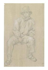 portrait study of a sailor by james ward