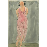 isadora dancing (in pink) by abraham walkowitz